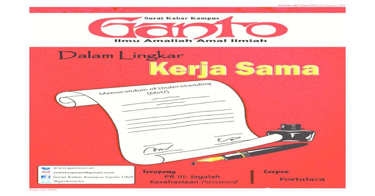 Skk Ganto Unp Edisi 181