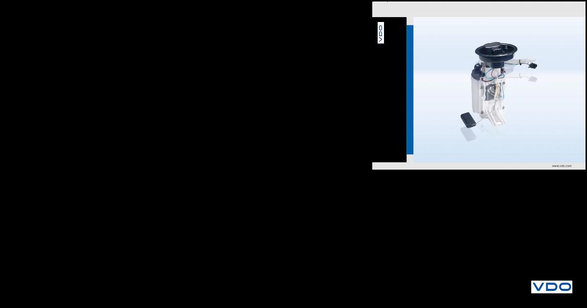 VDO combustible fördereinheit 228-222-009-002z para BMW