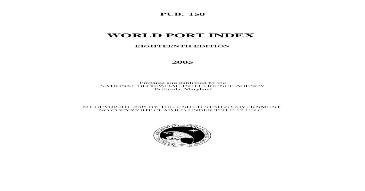 World Port Index