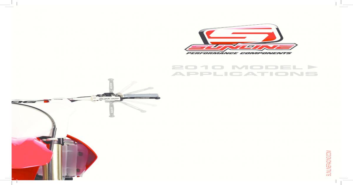 Sunline 61-01-009 CNC Brake Pedal for Honda CRF 250