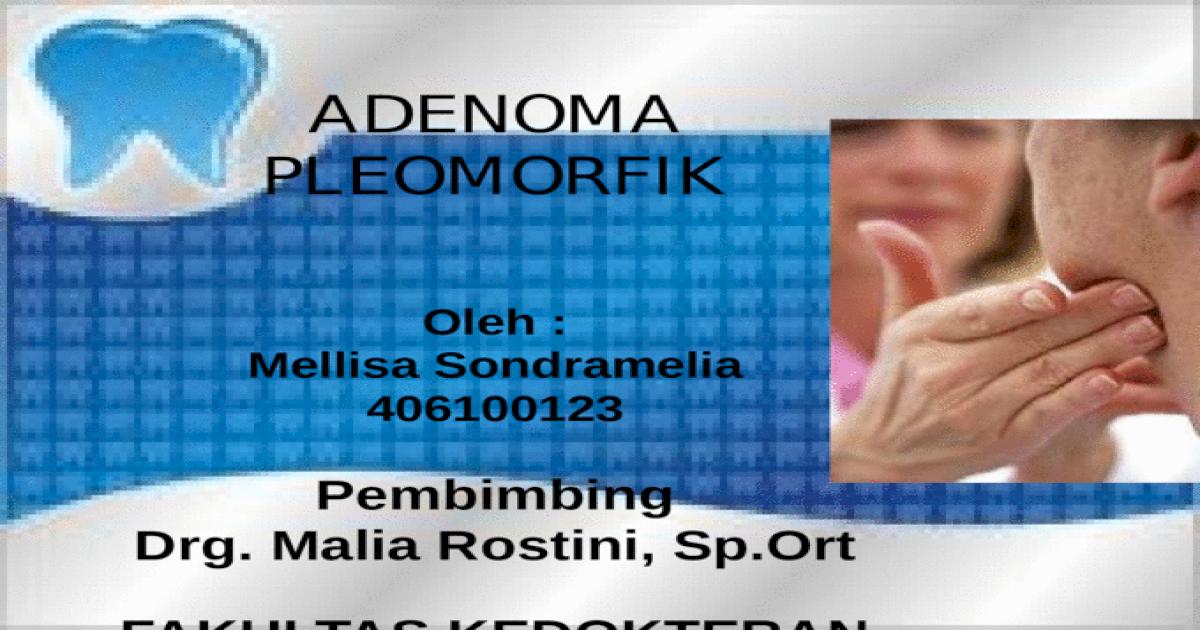 adenoma prostatico in english translation