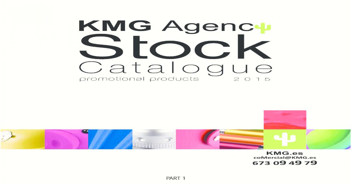 Stock Catalogue 2015 Part 1