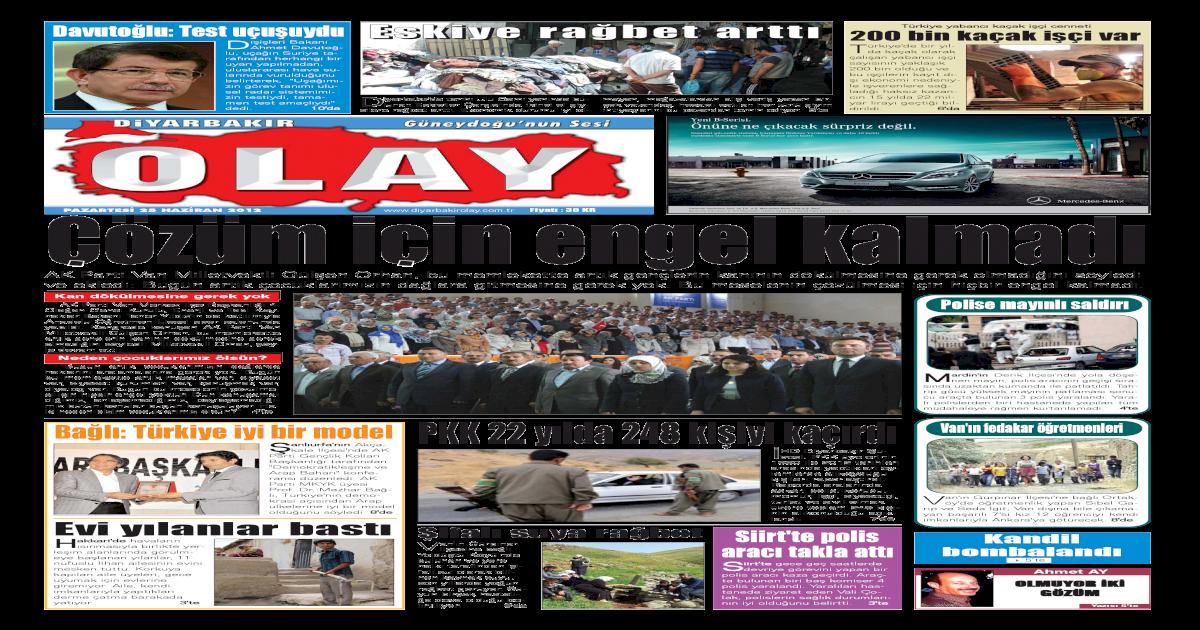 25 06 2012 Gazete Sayfalar