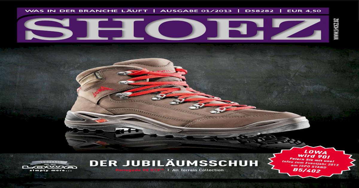 Shoez Ausgabe Januar 2013