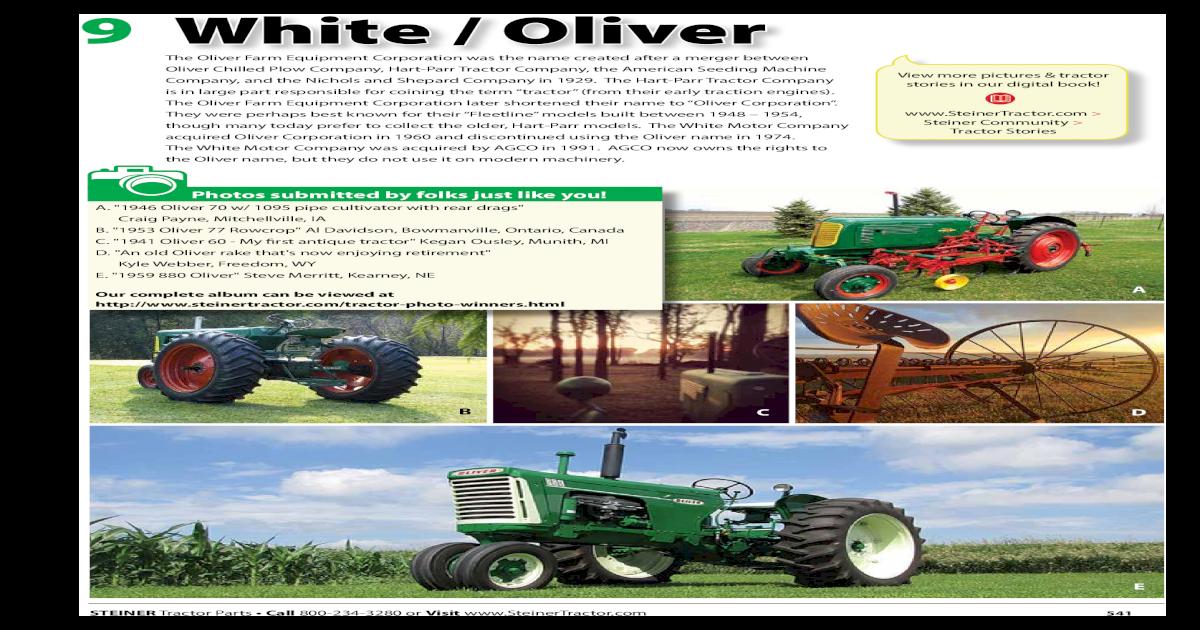 OLIVER WHITE Solenoid 1855 1955 2-85 2-88 2-105 2-110
