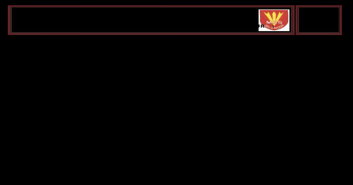 Contoh Format Daftar Pemain Sepak Bola