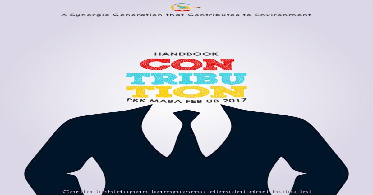 This Handbook Belongs To Feb Ub Ac Idfeb Ub Ac Id Wp Content