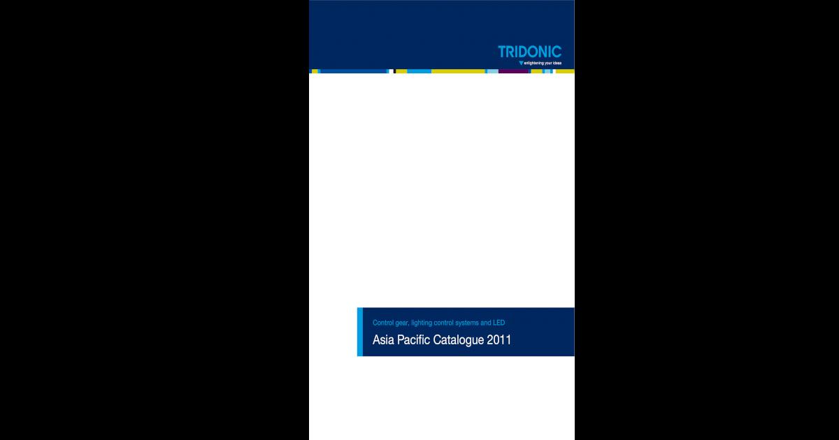 Tridonic PC 1x4-13 W Ballast Basique Carré