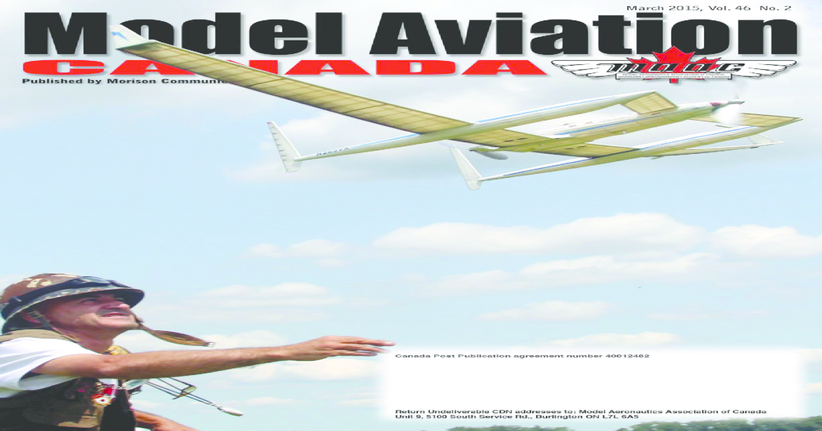 Advertise In Model Aviation Canada