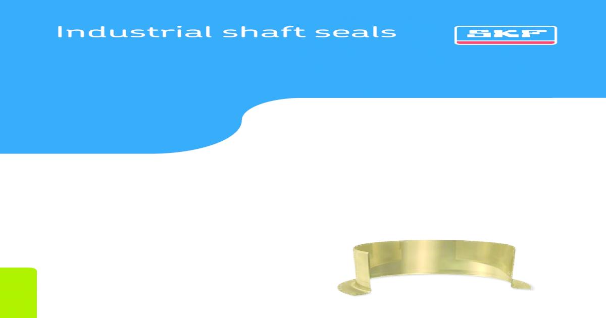SKF 29870 Grease Seals