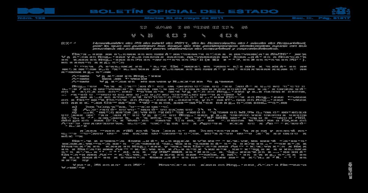 Ministerio Del Interior Boe Es Oficial Del Estado Nm 123