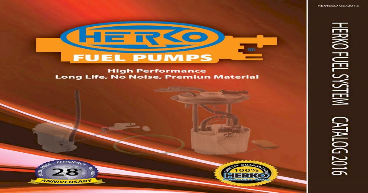 Fuel Pump Module Herko 011GE For Saturn 1.9L 1991-1996