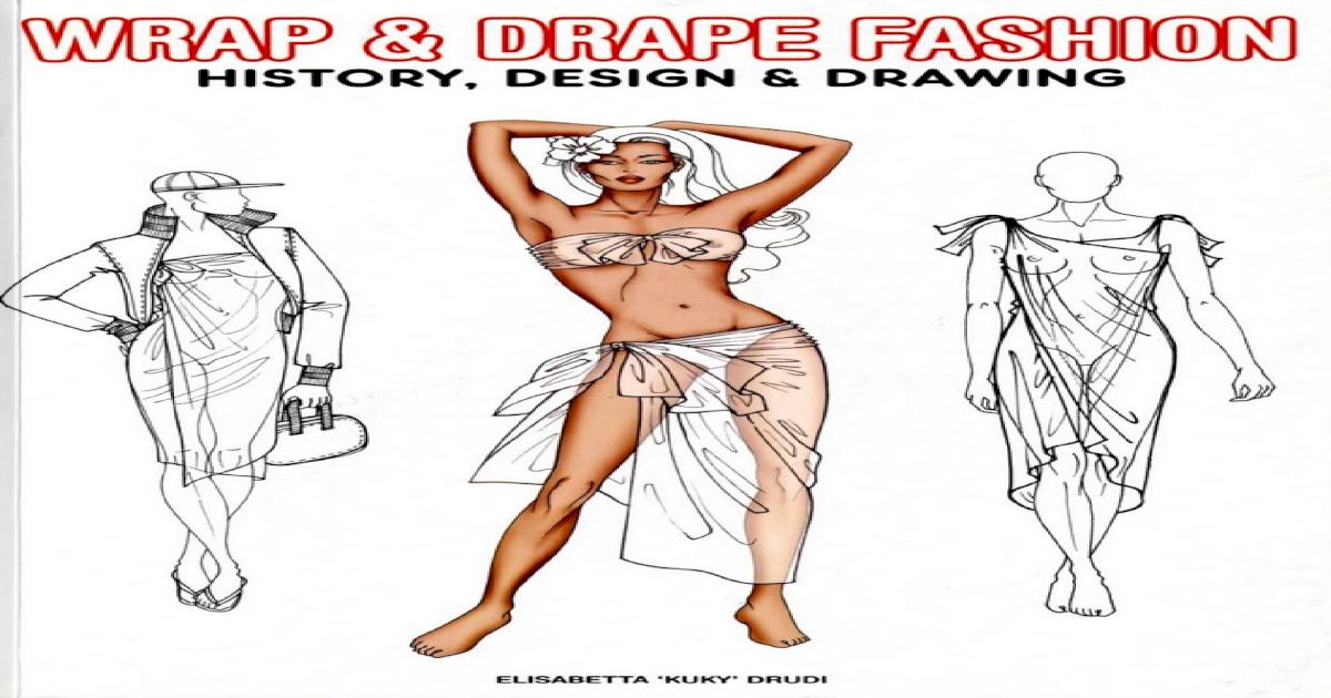 Elisabetta Drudi Wrap Drape Fashion