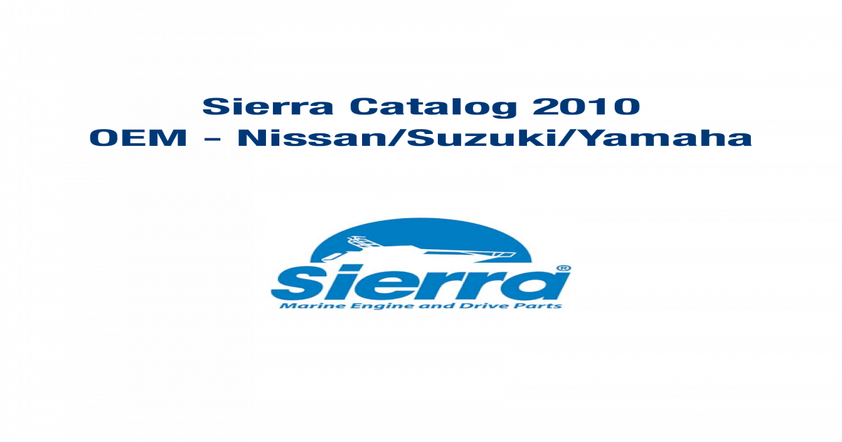 Sierra 18-3891 Head Gasket Sierra International
