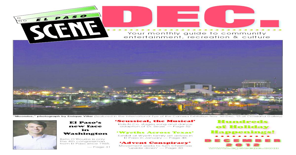 El Paso Scene December 2012
