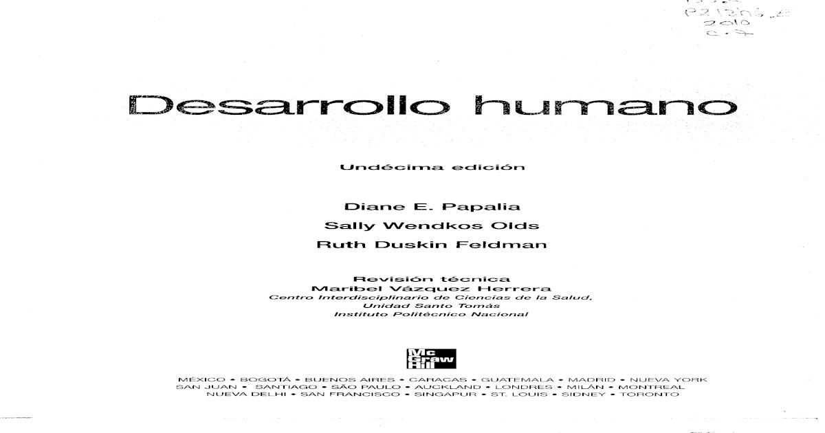175696292 Desarrollo Humano Papalia Pdf