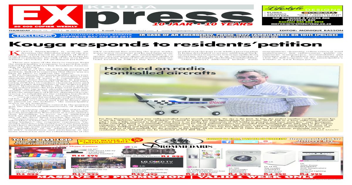 Kouga express 12 03 2015