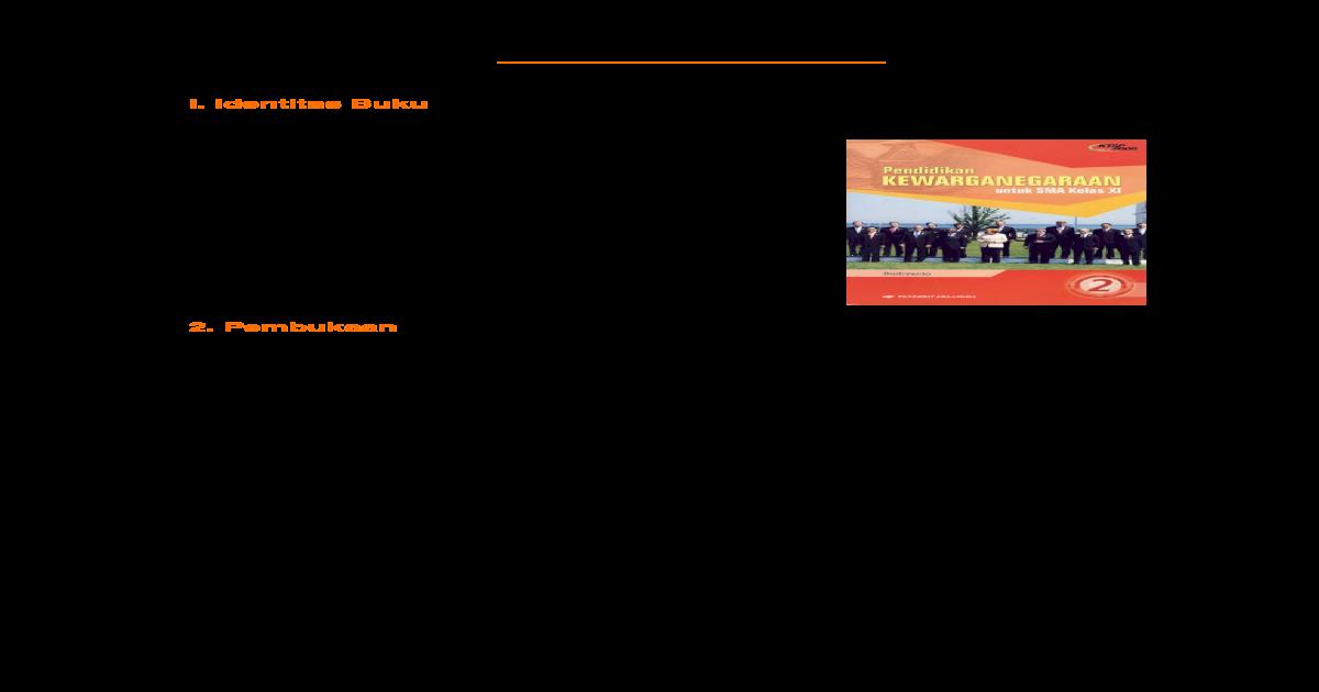 Contoh Resensi Buku Bahasa Indonesia Kelas 11 | Bagikan Kelas