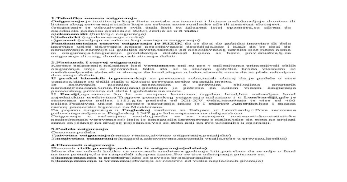 Knjizici radnoj sta licni broj osiguranika u je WebPropisi Infotek