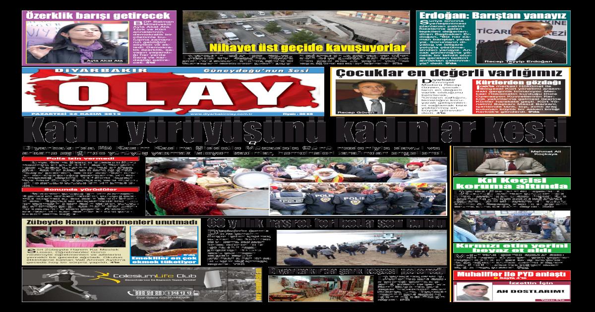 26 11 2012 Gazete Sayfalar