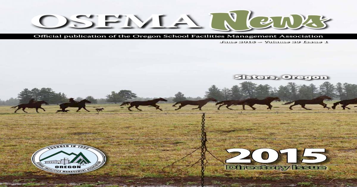 OSFMA News 2015 Directory