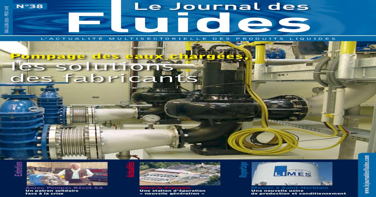 Journal Des Fluides 38