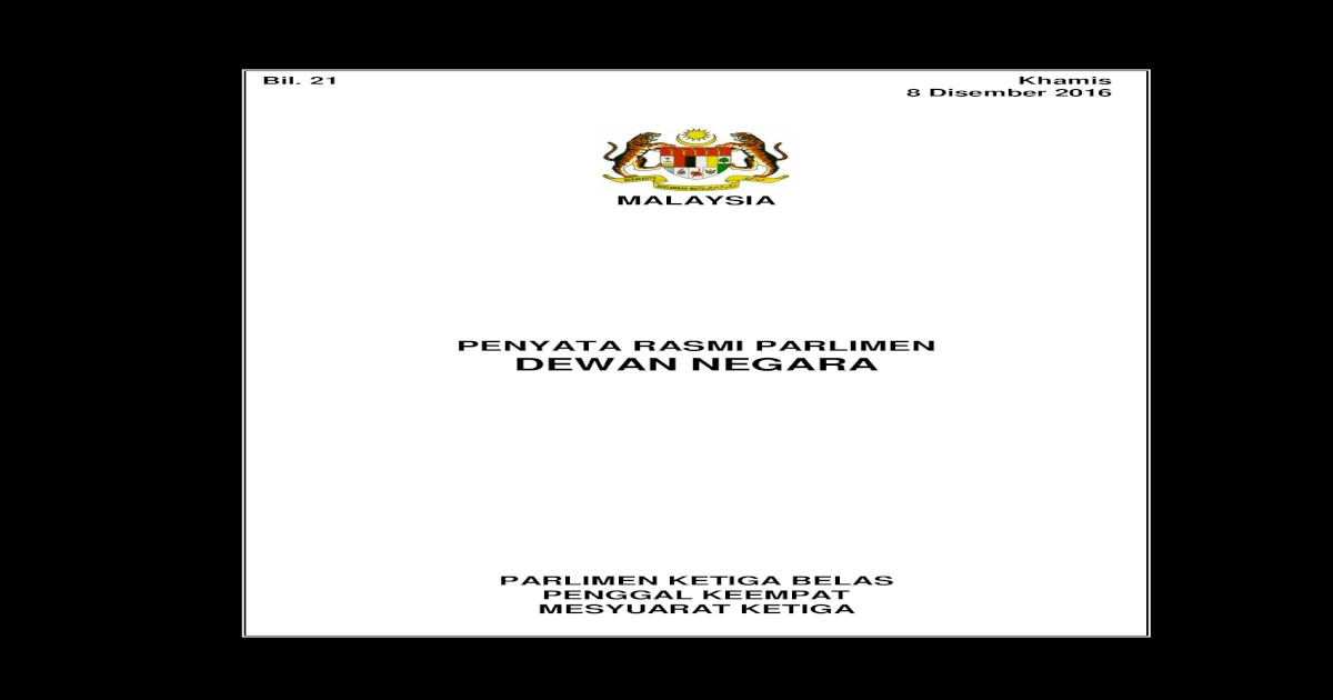 Malaysia Ia Kes Kes Lain Itu Tiada Tuan Yang Di Pertua