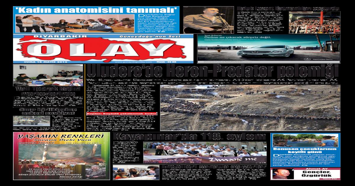 18 05 2012 Gazete Sayfalar