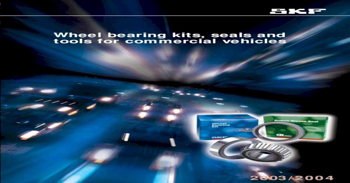 SKF VKBA 6632 Kit cuscinetti per routa