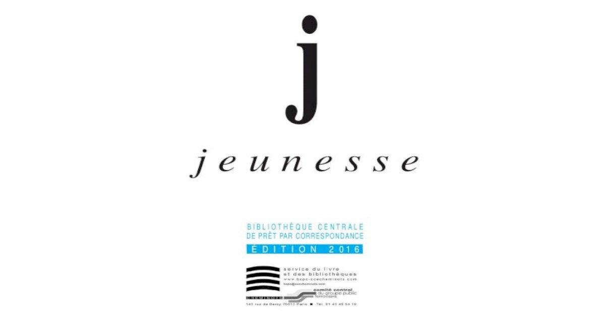 Catalogue jeunesse dition 2016 BCPC JeanNikly Michelle L