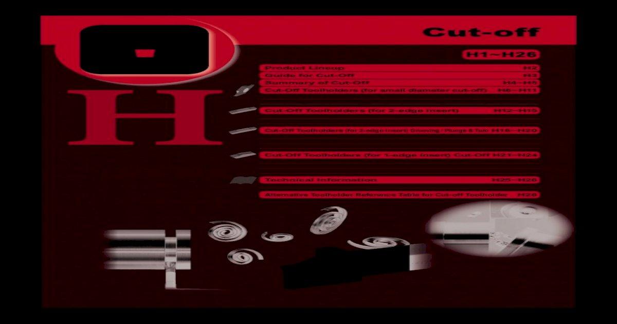 GMM2420-02 CR9025 Grooving Insert 10pc Box Kyocera