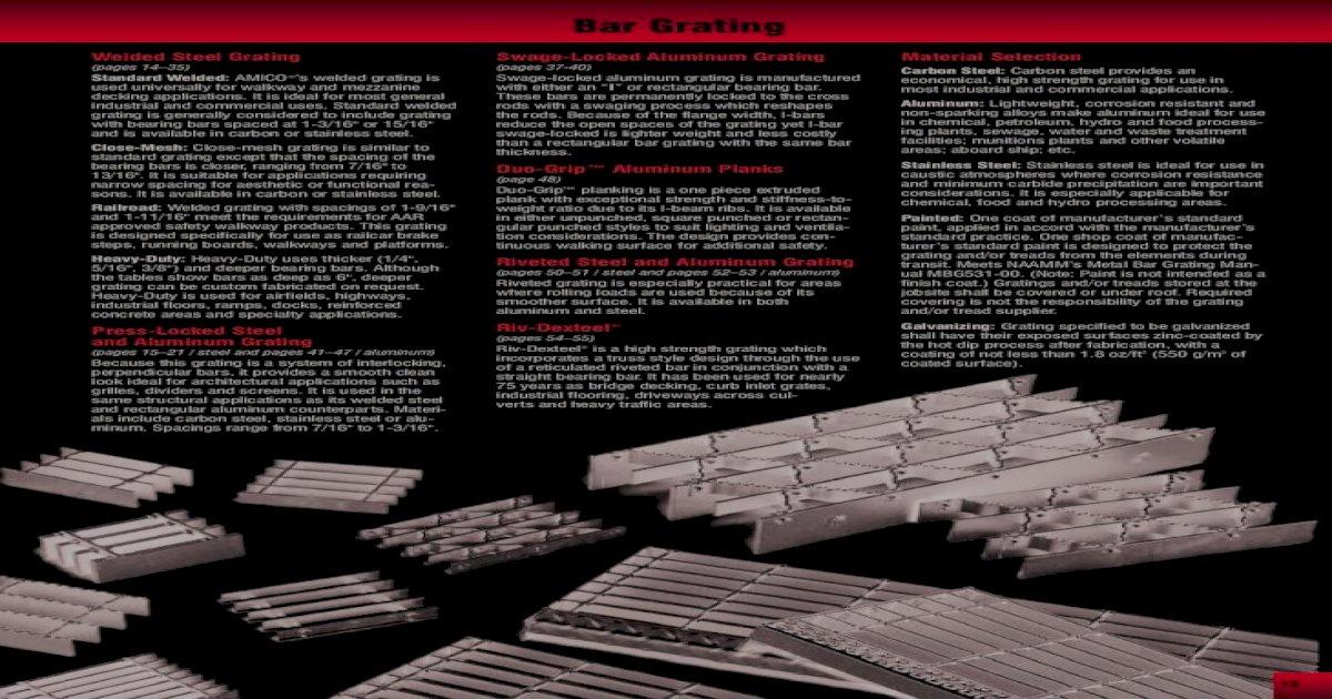 Serrated Bar Grating Aluminum 72 Span 36 X 1.5