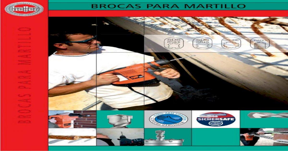HELLER 26745 Broca SDS 6.0 x 100 x 160 mm