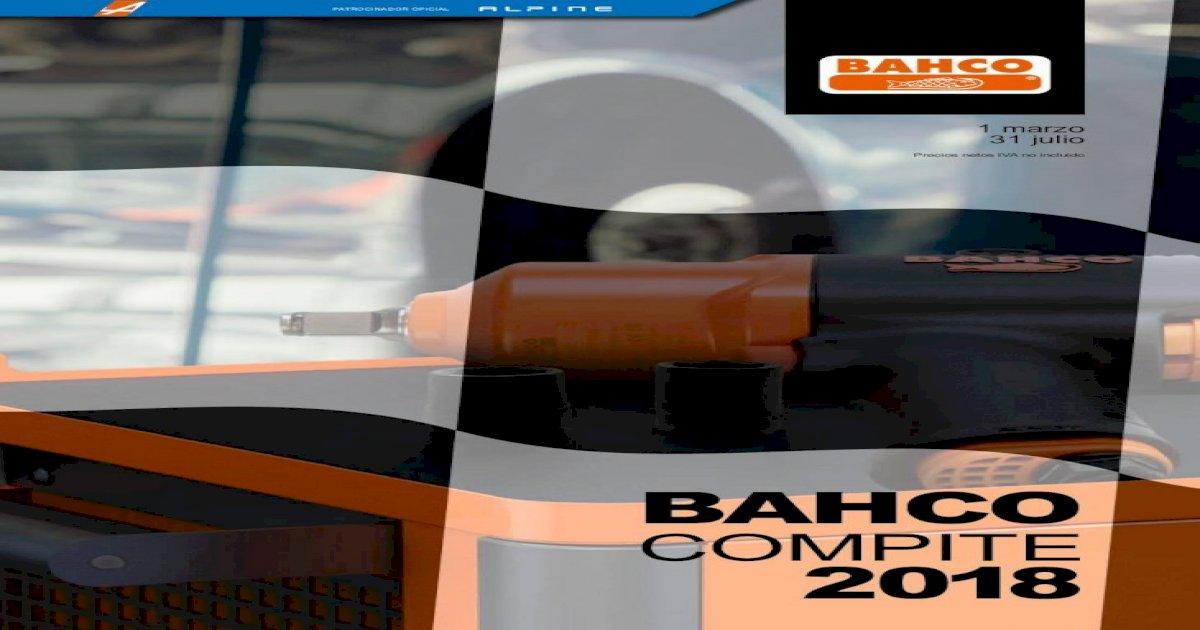 10 Bahco 7805DM-10 Vaso 12 C Extralarga 1//2