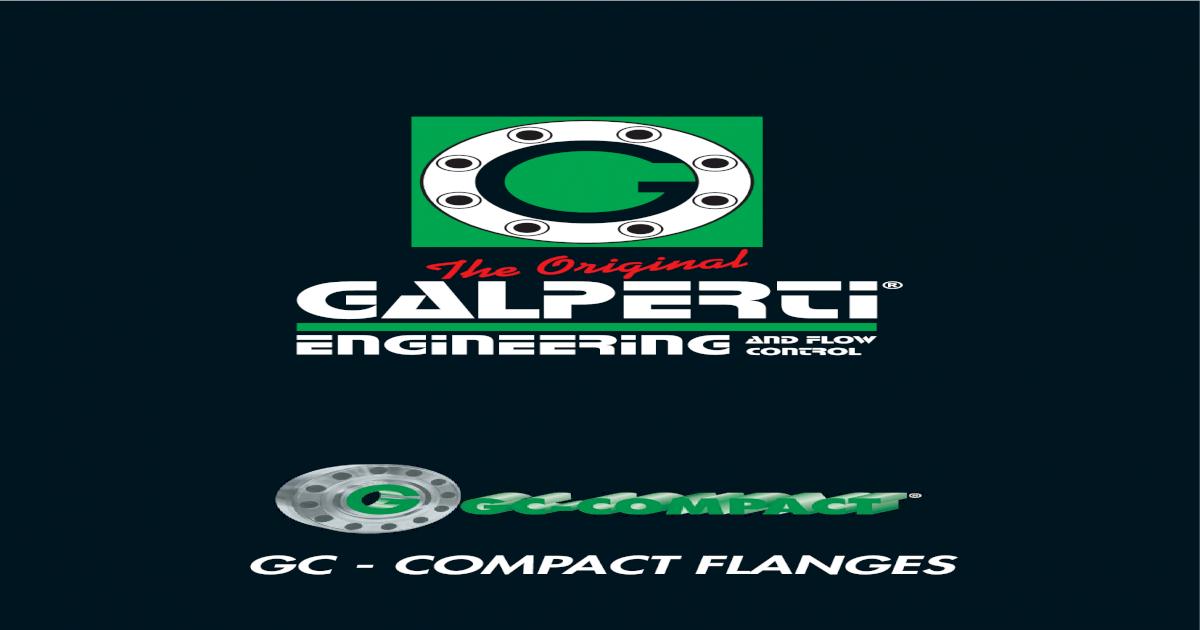 GC Compact cat  - Galperti Engineering Solutions    GALPERTI