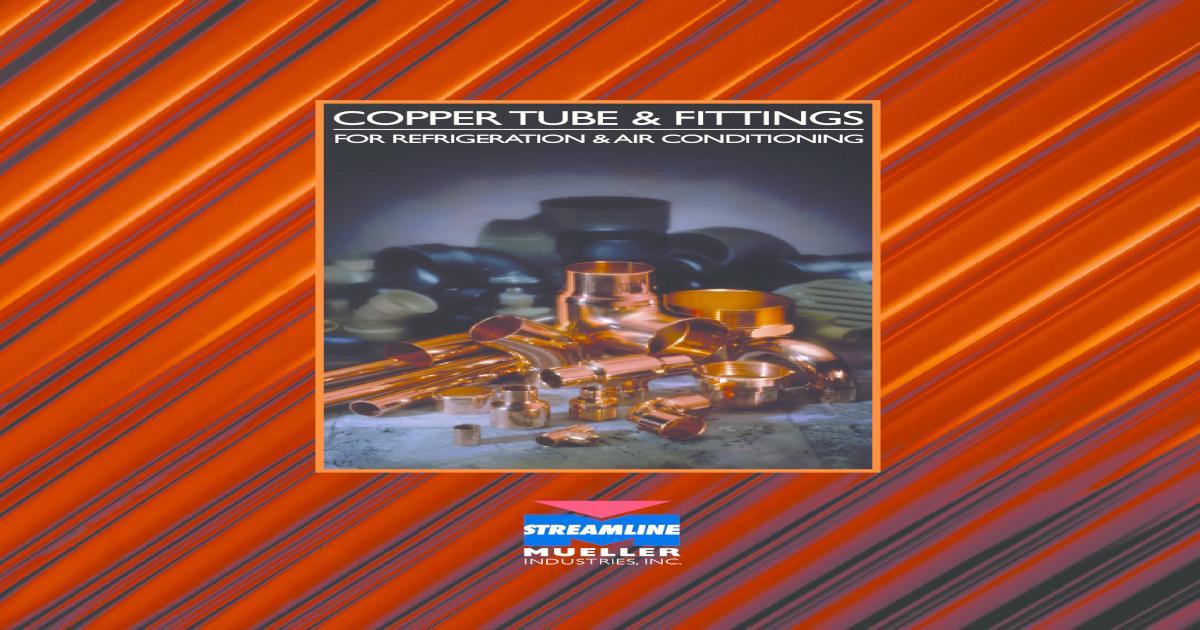 No Stop 1//2 x 1//2 Mueller PF 01903 Copper Coupling P x P
