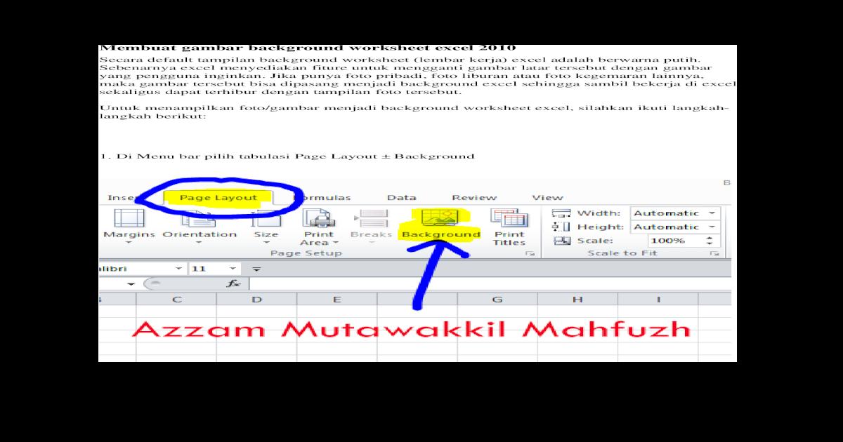 Unduh 540+ Background Excel Putih Gratis Terbaik