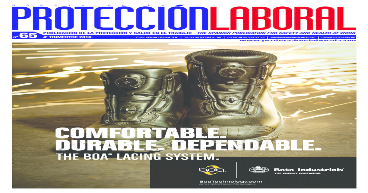 Proteccin Laboral 65 Occupational safety, health and environment
