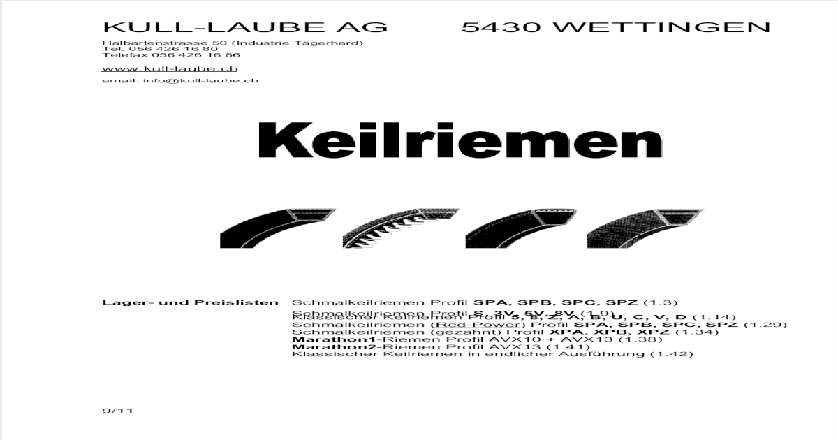 Keilriemen SPB 8000 Lw