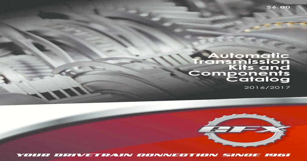 Transtec Overhaul Kit 4R100 E4OD 98-17