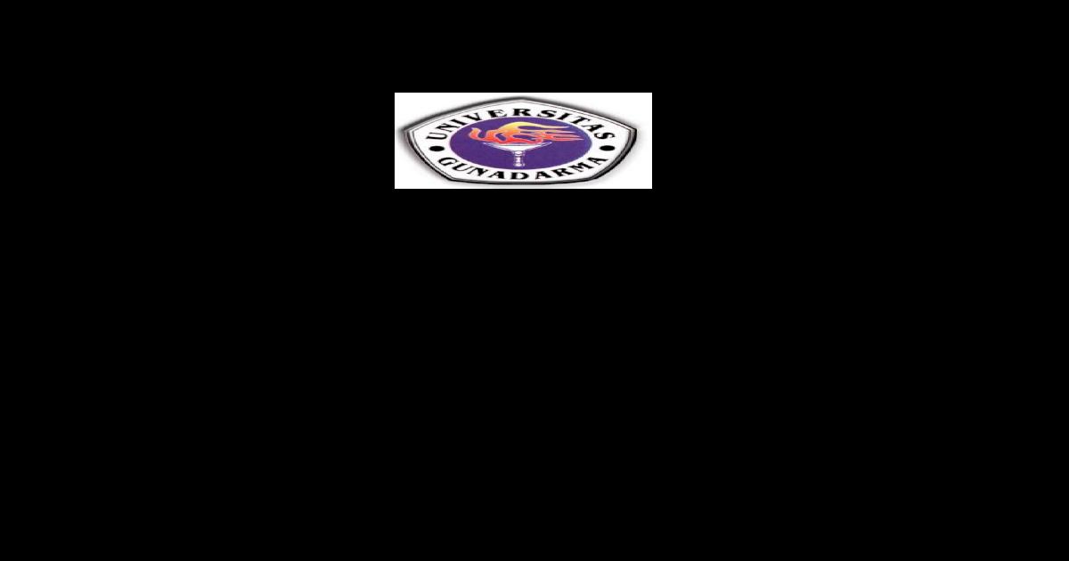 Proposal Pengajuan Skripsi Universitas Gunadarma