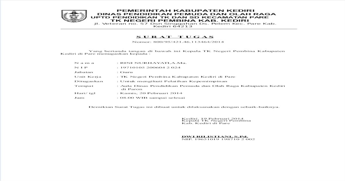 Surat Tugasdoc
