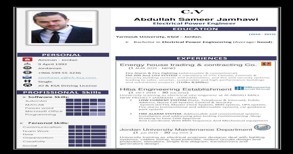 CV Abdullah