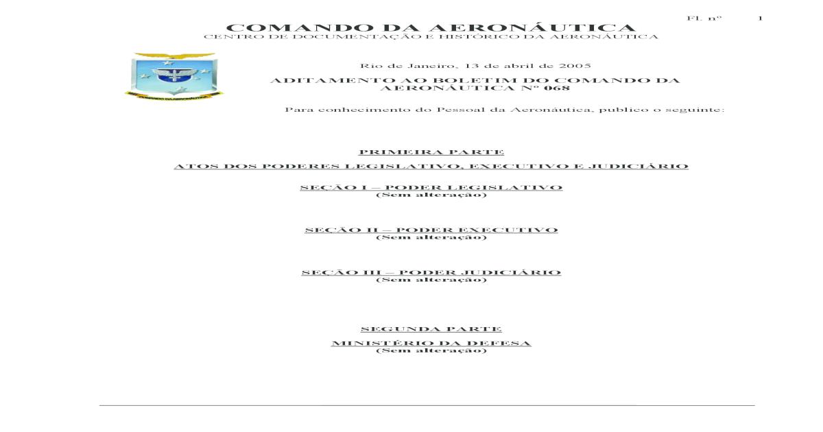 2d40d55419 RUMAER - REGULAMENTO DE UNIFORMES PARA OS MILITARES DA AERONUTICA - CFS EEAR