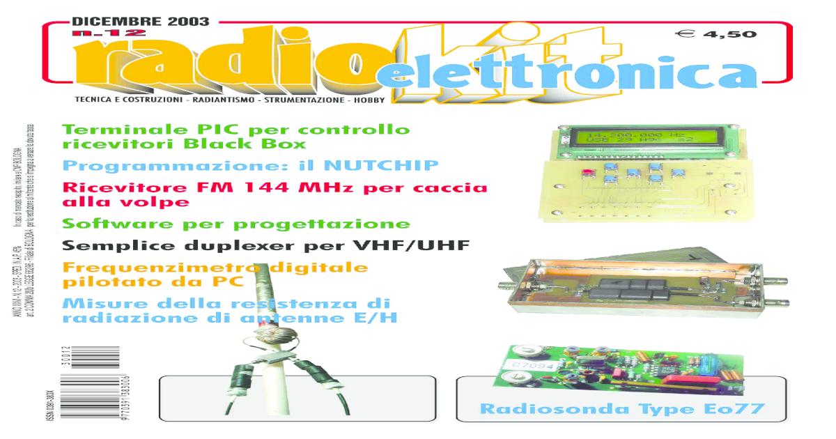 Radio amatoriale DOPPIO BILANCIATO MIXER dBm PCB