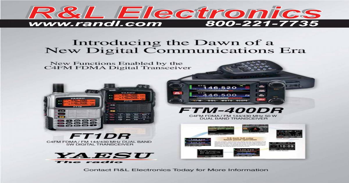 R&L Electronics catalog