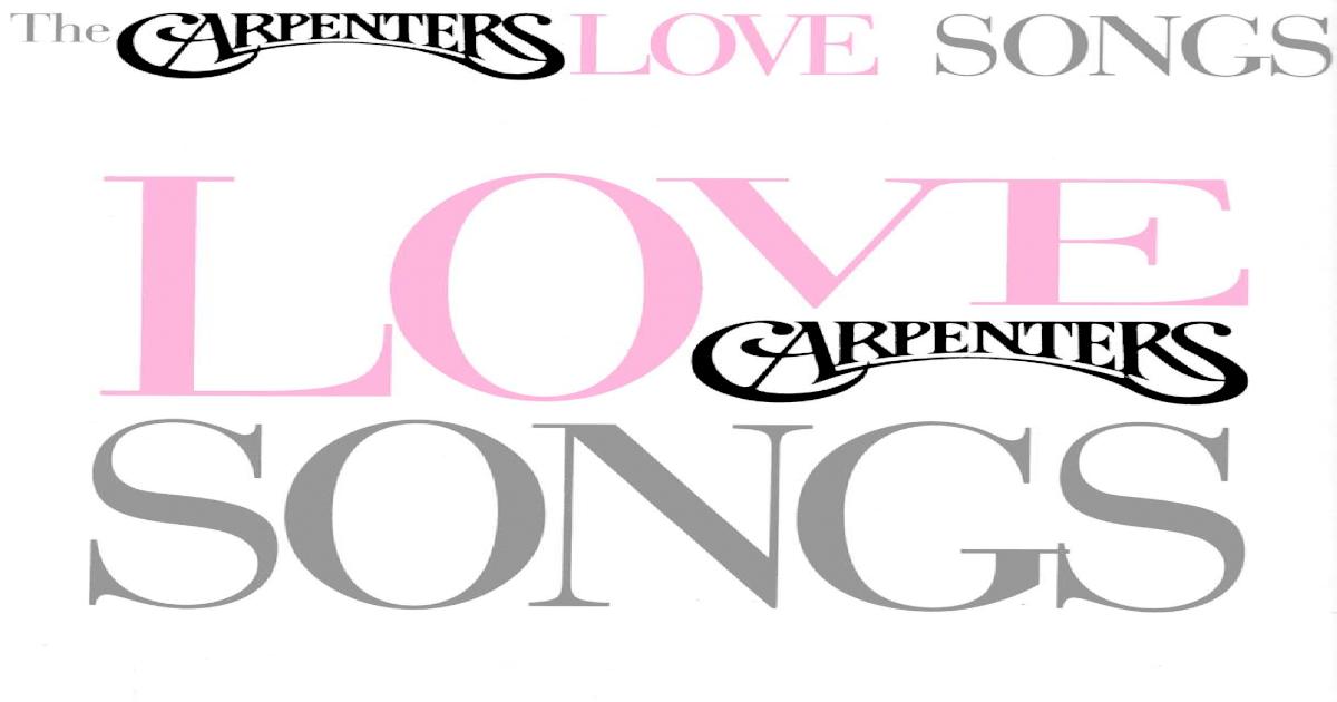BOOK - Carpenters - Love Songs pdf