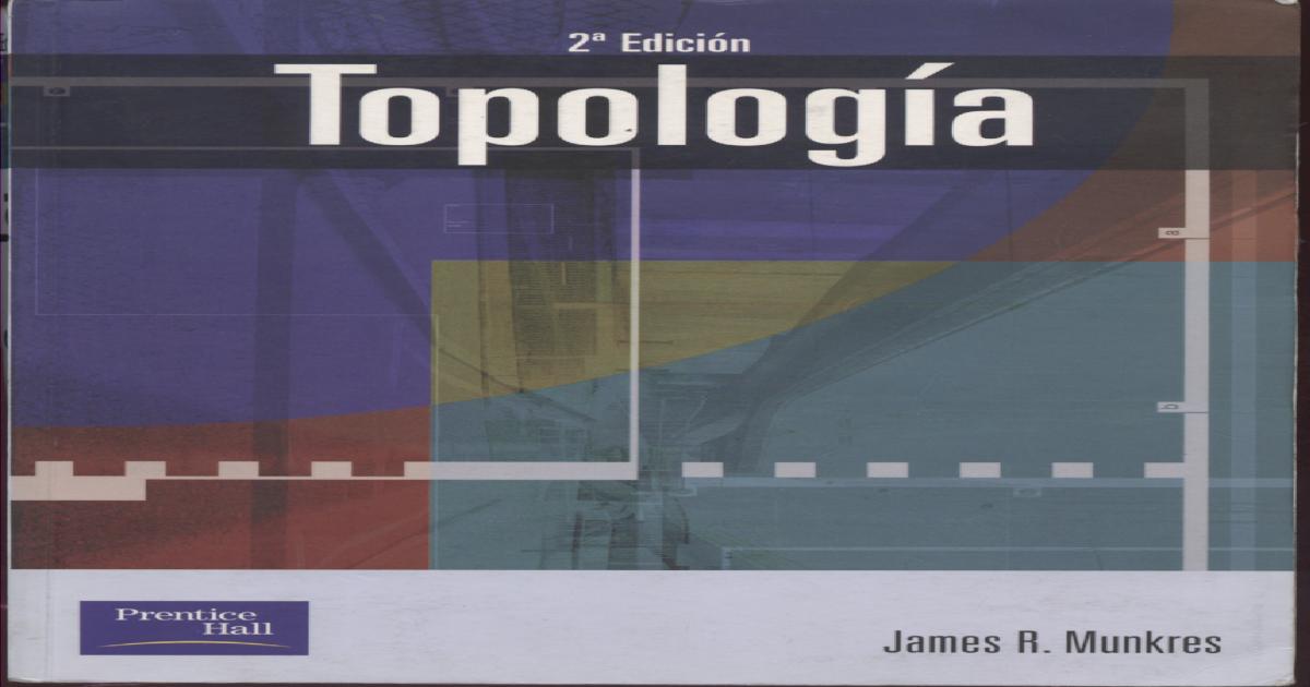 Topología munkres descarga de descarga de manual