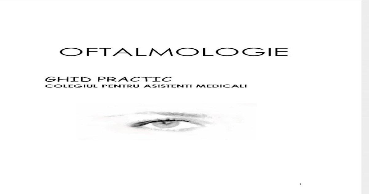 ghidul oftalmologului)