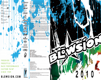 BLOWSION SKI KOMMAND HANDLEBAR 0 DEG CLEAR BAR W//PAD